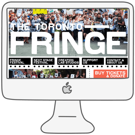 The Toronto Fringe desktop