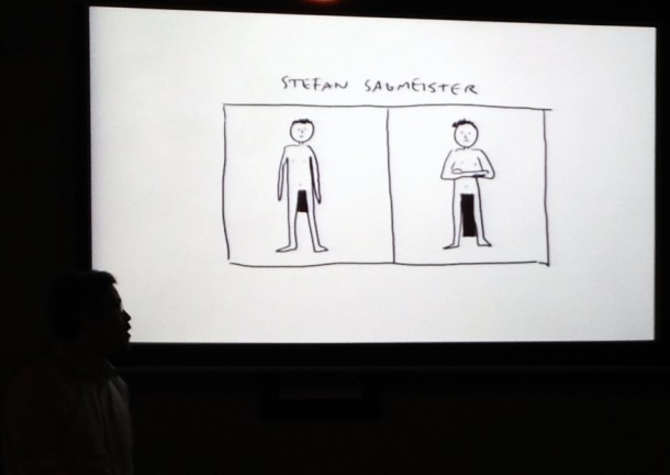 Bonus: cartoon Stefan Sagmeister
